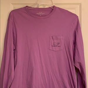 Vineyard Vines Men's LS Pocket T-shirt Sz M